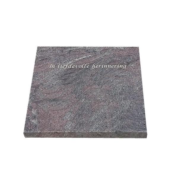 Grafsteen Rotterdam 50x50