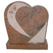 Grafmonument hartvorm